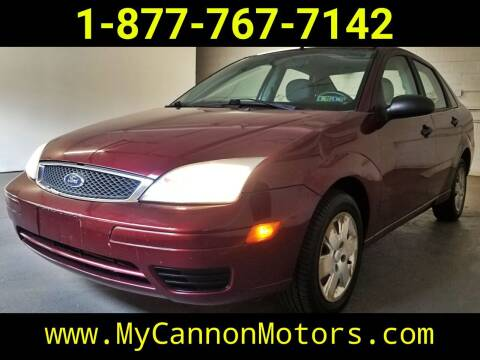 2007 Ford Focus for sale at Cannon Motors in Silverdale PA
