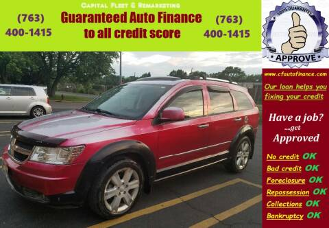 2010 Dodge Journey for sale at Capital Fleet  & Remarketing  Auto Finance in Columbia Heights MN