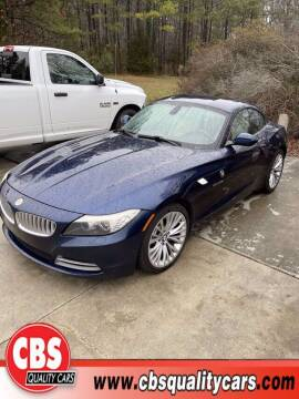 2009 BMW Z4 for sale at CBS Quality Cars in Durham NC