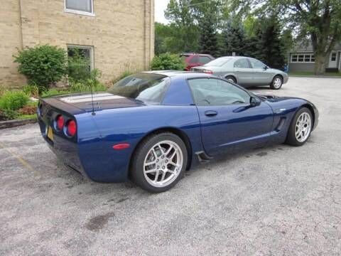 2004 Chevrolet Corvette for sale at LENTZ USED VEHICLES INC in Waldo WI