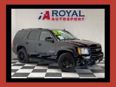 2007 Chevrolet Tahoe for sale at Royal AutoSport in Sacramento CA