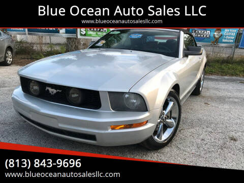 2007 Ford Mustang for sale at Blue Ocean Auto Sales LLC in Tampa FL