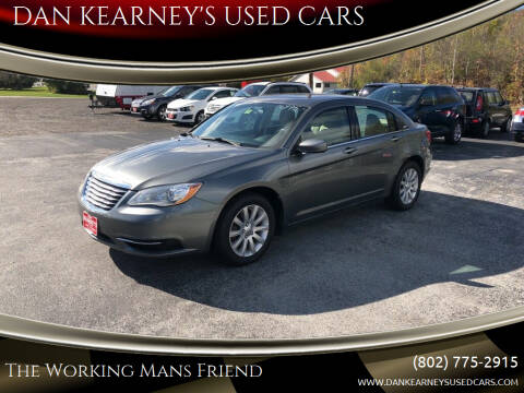 2013 Chrysler 200 for sale at DAN KEARNEY'S USED CARS in Center Rutland VT