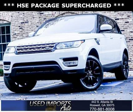 2016 Land Rover Range Rover Sport for sale at Used Imports Auto in Roswell GA