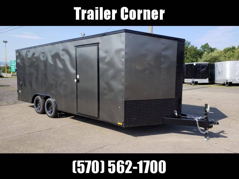 2021 Look Trailers ST 8.5X20 7K DLX BLACKED OUT