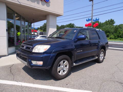 2004 Toyota 4Runner for sale at KING RICHARDS AUTO CENTER in East Providence RI
