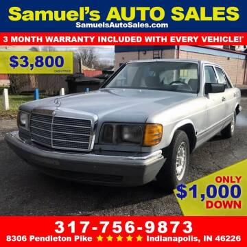 1982 Mercedes-Benz 300-Class for sale at Samuel's Auto Sales in Indianapolis IN