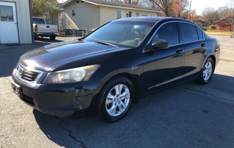 2008 Honda Accord for sale at Elders Auto Sales in Pine Bluff AR