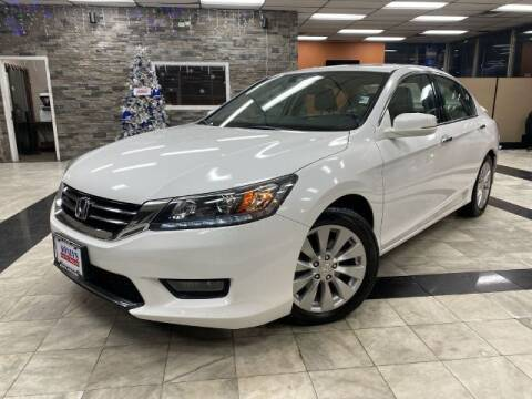 2014 Honda Accord for sale at Sonias Auto Sales in Worcester MA