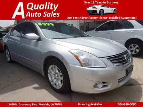 2012 Nissan Altima for sale at A Quality Auto Sales in Metairie LA