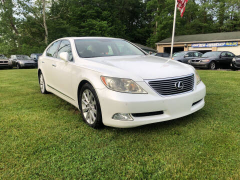2008 Lexus LS 460 for sale at Precision Automotive Group in Youngstown OH