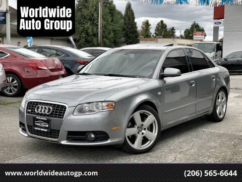 2008 Audi A4 for sale at Worldwide Auto Group in Auburn WA