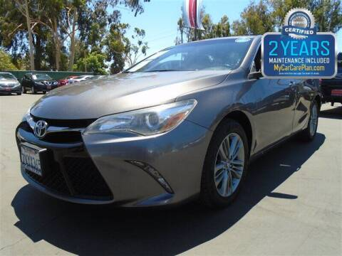 2017 Toyota Camry for sale at Centre City Motors in Escondido CA