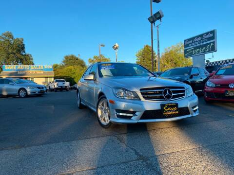 2014 Mercedes-Benz C-Class for sale at Save Auto Sales in Sacramento CA