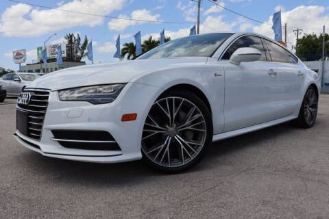 2017 Audi A7 for sale at OCEAN AUTO SALES in Miami FL