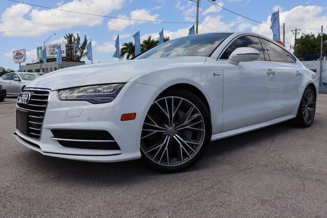 2017 Audi A7 for sale at OCEAN AUTO SALES in Miami FL