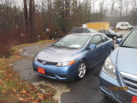 2007 Honda Civic for sale at D & F Classics in Eliot ME