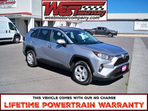 2020 Toyota RAV4 for sale at West Motor Company in Preston ID