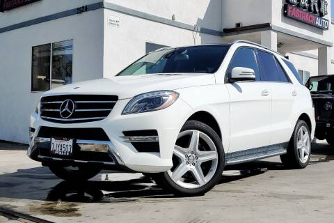 2015 Mercedes-Benz M-Class for sale at Fastrack Auto Inc in Rosemead CA