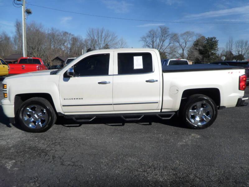 2015 Chevrolet Silverado 1500 for sale at CARSON MOTORS in Cloverdale IN