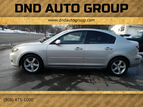 2006 Mazda MAZDA3 for sale at DND AUTO GROUP 2 in Asbury NJ