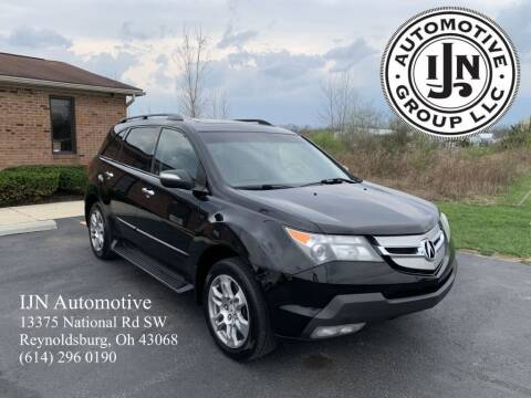 2009 Acura MDX for sale at IJN Automotive Group LLC in Reynoldsburg OH