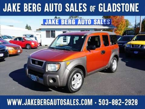 2004 Honda Element for sale at Jake Berg Auto Sales in Gladstone OR