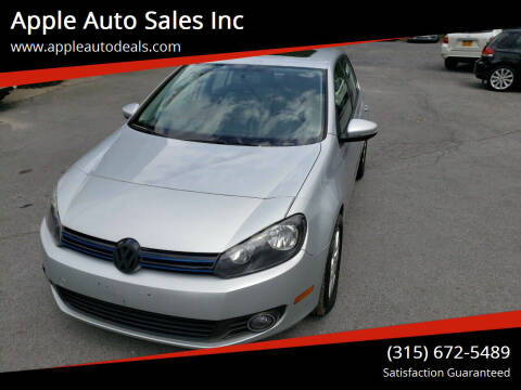 2011 Volkswagen Golf for sale at Apple Auto Sales Inc in Camillus NY