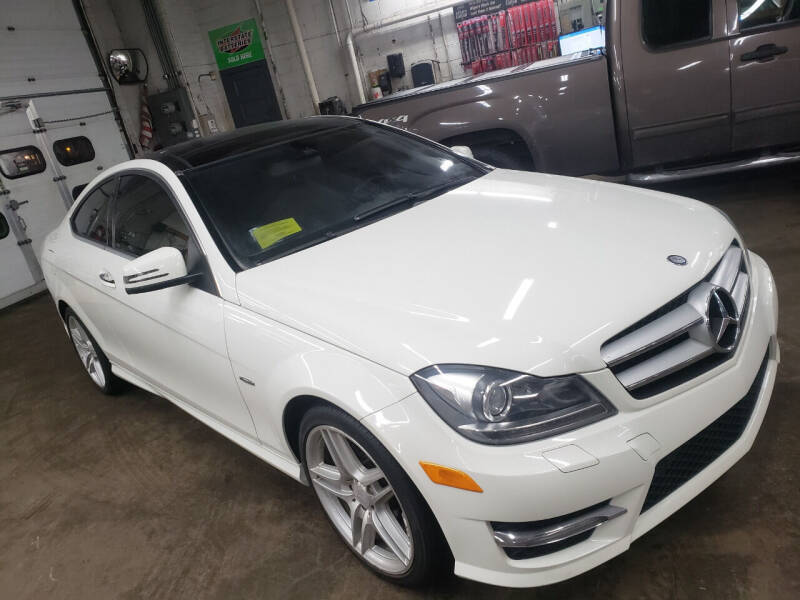 2012 Mercedes-Benz C-Class for sale at Washington Street Auto Sales in Canton MA