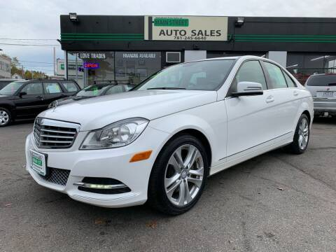 2013 Mercedes-Benz C-Class for sale at Wakefield Auto Sales of Main Street Inc. in Wakefield MA