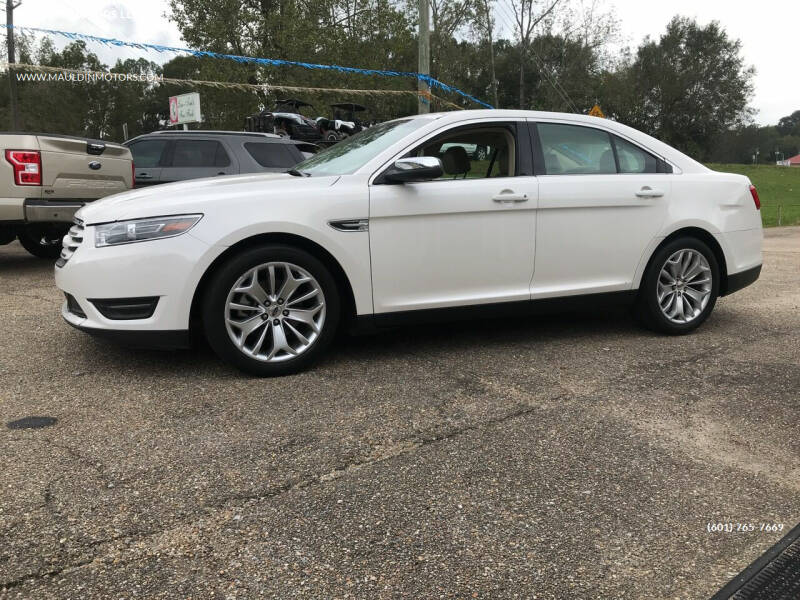 2016 Ford Taurus for sale at MAULDIN MOTORS LLC in Sumrall MS