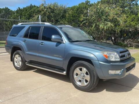 2004 Toyota 4Runner for sale at Luxury Motorsports in Austin TX