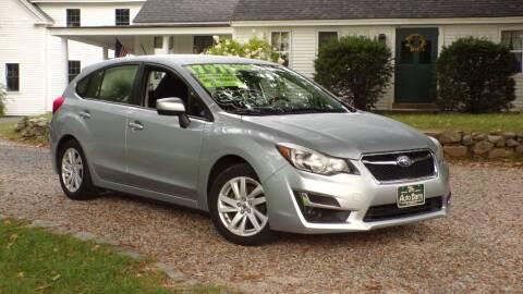 2016 Subaru Impreza for sale at The Auto Barn in Berwick ME