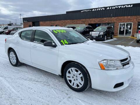 2014 Dodge Avenger for sale at Motor City Auto Auction in Fraser MI