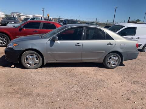 2005 Toyota Camry for sale at PYRAMID MOTORS - Fountain Lot in Fountain CO
