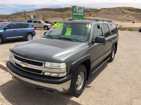 2001 Chevrolet Suburban for sale at Hilltop Motors in Globe AZ