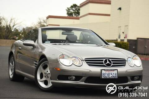 2004 Mercedes-Benz SL-Class for sale at Galaxy Autosport in Sacramento CA