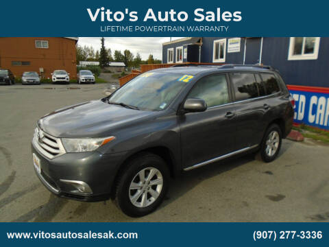 2012 Toyota Highlander for sale at Vito's Auto Sales in Anchorage AK