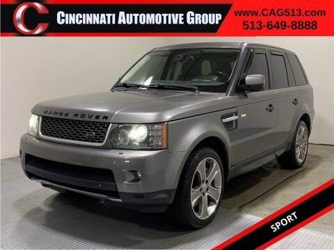 2011 Land Rover Range Rover Sport for sale at Cincinnati Automotive Group in Lebanon OH