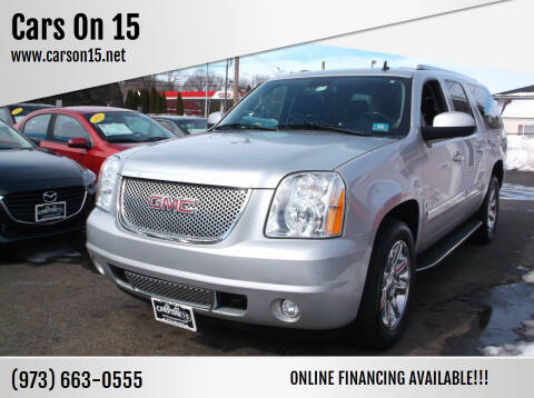 2011 GMC Yukon XL for sale at Cars On 15 in Lake Hopatcong NJ