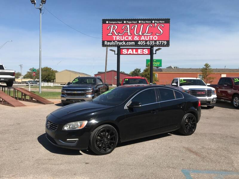 2014 Volvo S60 for sale at RAUL'S TRUCK & AUTO SALES, INC in Oklahoma City OK