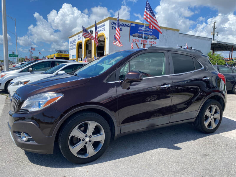 2013 Buick Encore for sale at INTERNATIONAL AUTO BROKERS INC in Hollywood FL
