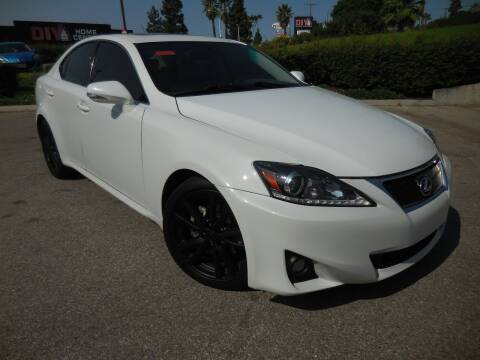 2012 Lexus IS 250 for sale at ARAX AUTO SALES in Tujunga CA