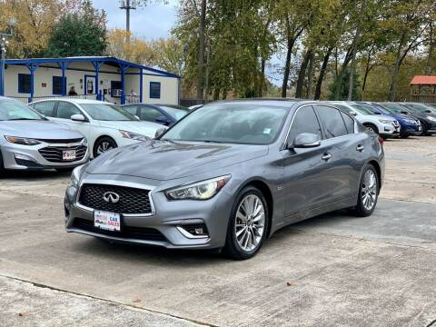 2018 Infiniti Q50 for sale at USA Car Sales in Houston TX