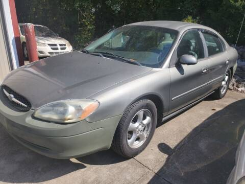2002 Ford Taurus for sale at Wolff Auto Sales in Clarksville TN