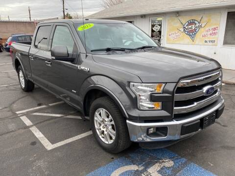2015 Ford F-150 for sale at Robert Judd Auto Sales in Washington UT