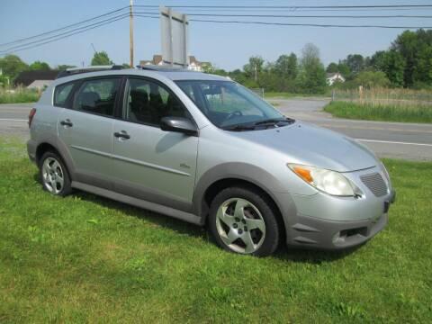 2006 Pontiac Vibe for sale at Saratoga Motors in Gansevoort NY