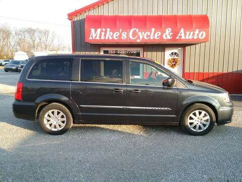 2013 Chrysler Town and Country for sale at MIKE'S CYCLE & AUTO in Connersville IN