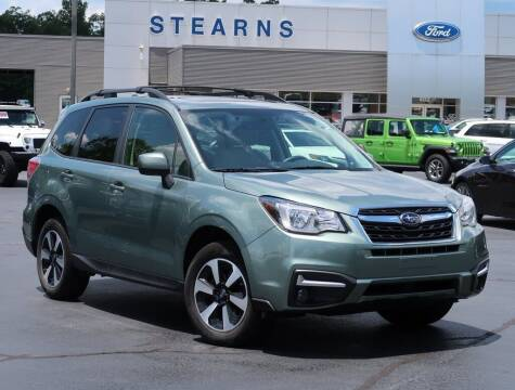 2018 Subaru Forester for sale at Stearns Ford in Burlington NC