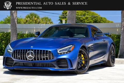 2020 Mercedes-Benz AMG GT for sale at Presidential Auto  Sales & Service in Delray Beach FL